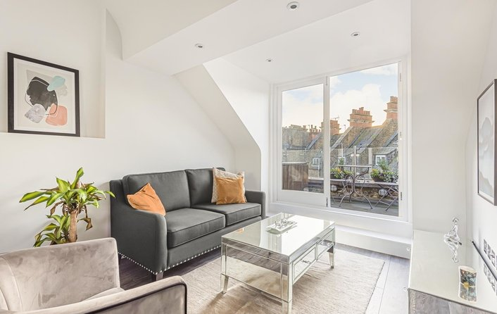 Flat for sale in Bakers Passage, Hampstead Village