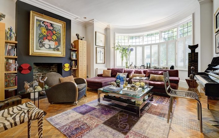 House for sale in Eldon Grove, Hampstead
