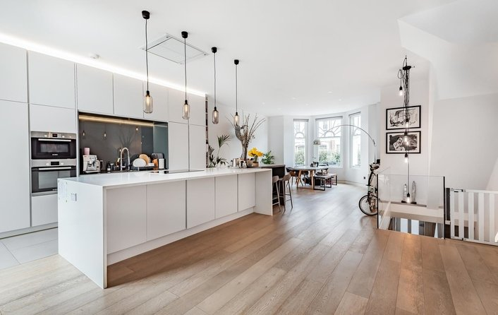 Flat for sale in Howitt Road, Belsize Park