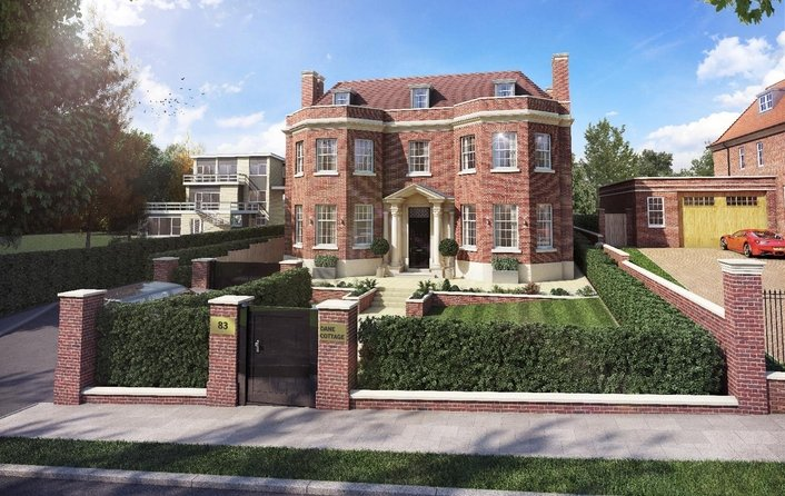 Property for sale in Winnington Road, Hampstead Garden Suburb