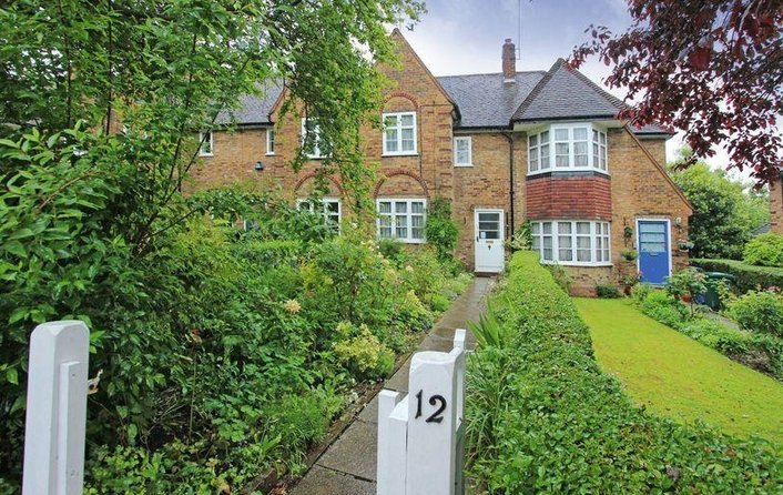 House to rent in Coleridge Walk, Hampstead Garden Suburb