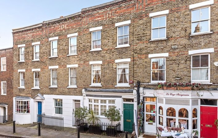 House to rent in Flask Walk, Hampstead Village